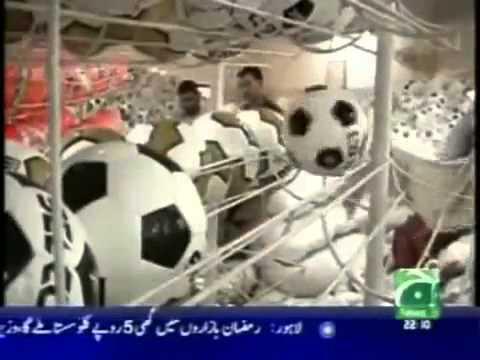 Sialkot Worlds largest football industry Pakistan