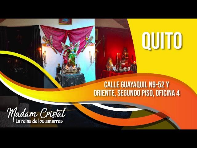 Madam Cristal consultas, amarres de amor Ecuador