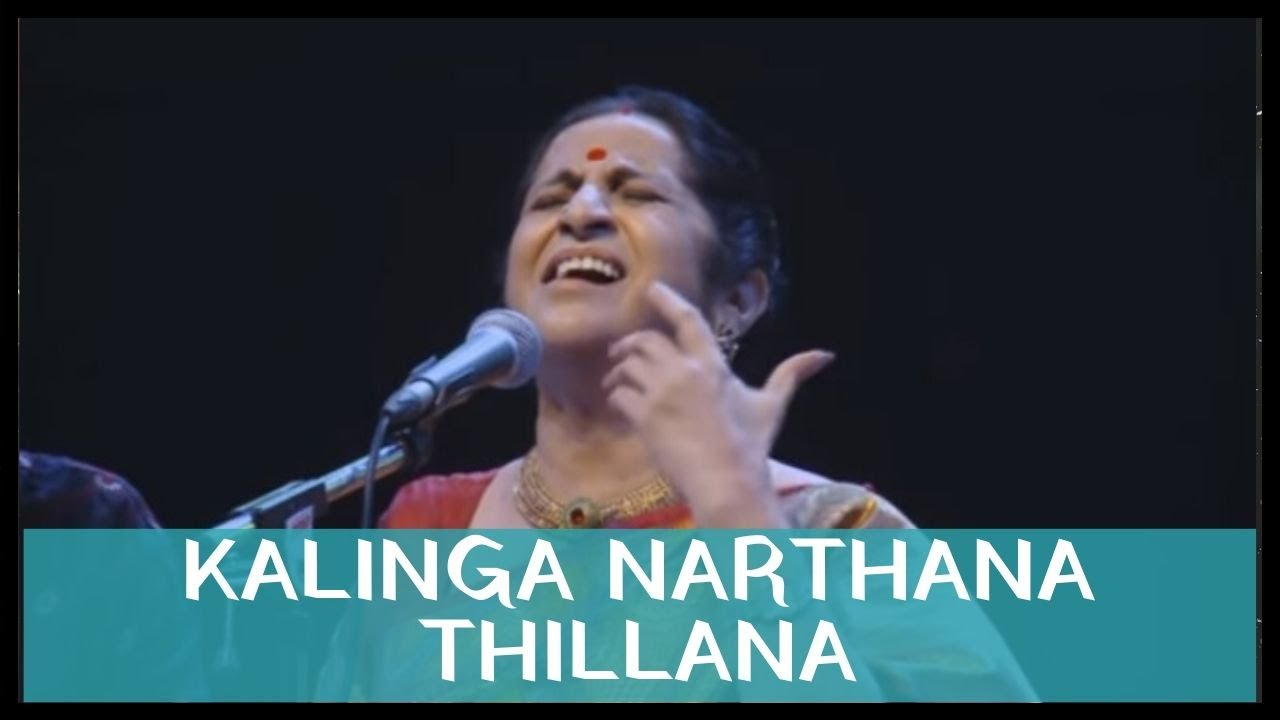 Kalinga Narthana Thillana by Smt. Aruna Sairam at Classical night featuring 2015
