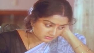 Swayamkrushi  Movie || Sumalatha Emotional Crying  Scene  || Chiranjeevi , Sumalatha