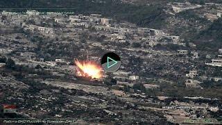 Сирия Syria HD ★ Работа ВКС России по бункерам ДАИШ #1