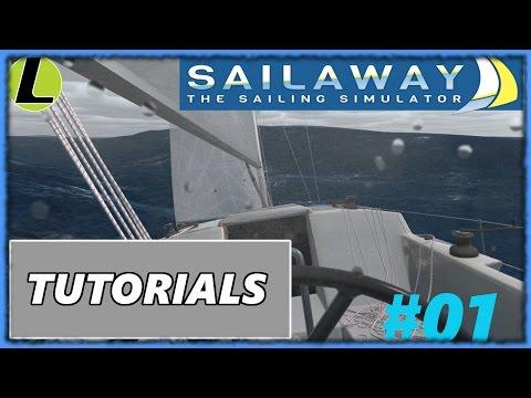 Presentazione e Tutorials | SAILAWAY - THE SAILING SIMULATOR | #01 Gameplay Ita