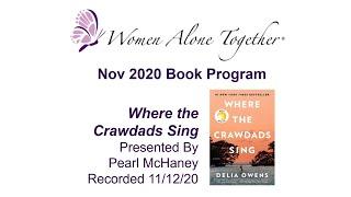 Nov 2020 Book Program - Where the Crawdads Sing