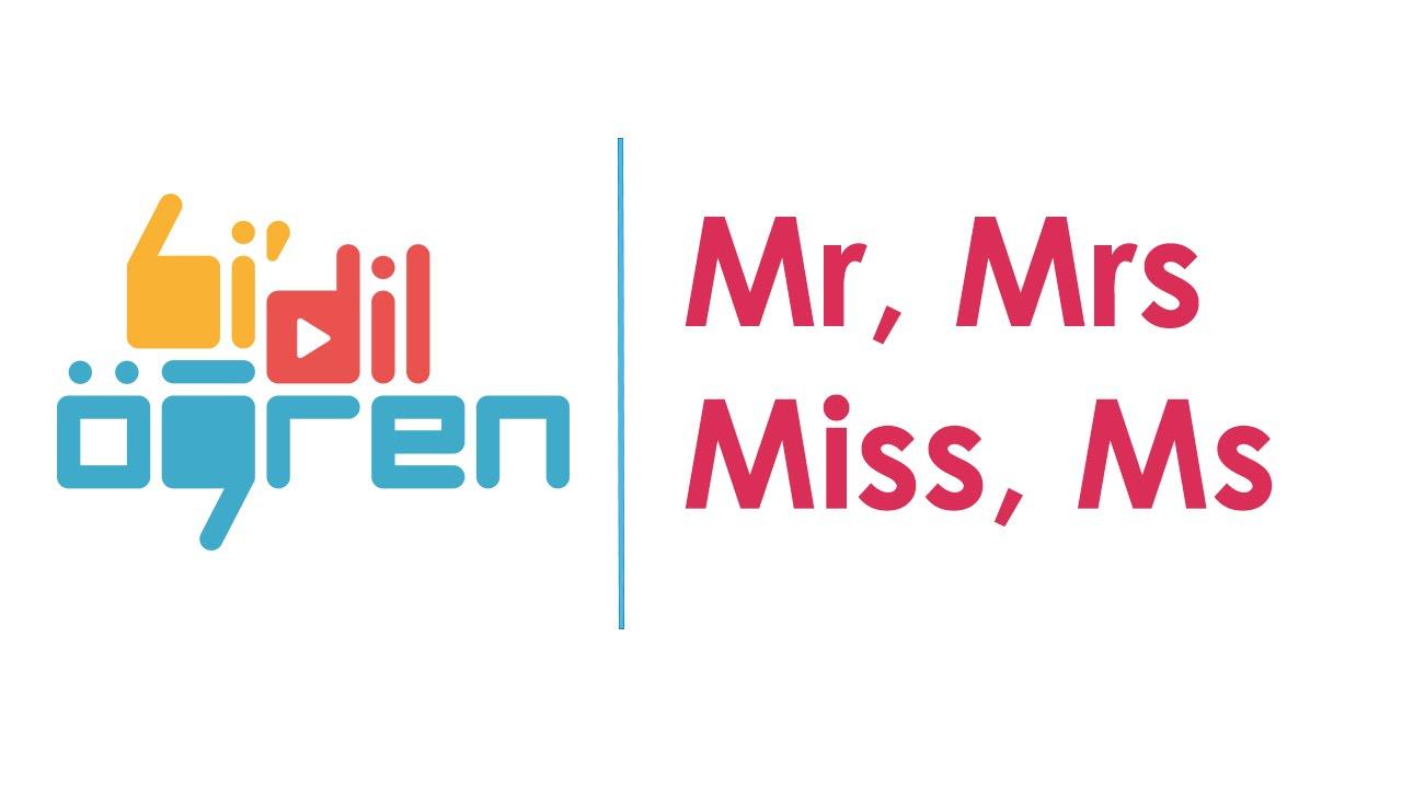 mrs miss ms www
