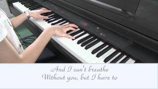Taylor Swift Breathe Karaoke (Piano Instrumental - No Vocals)