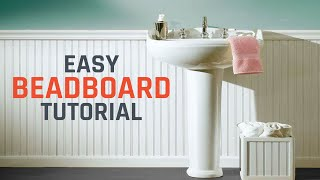 How To Install Beadboard Or Wainscoting