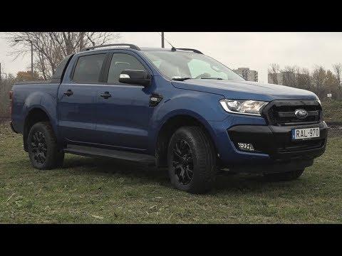 Újautó-teszt: Ford Ranger Wildtrak