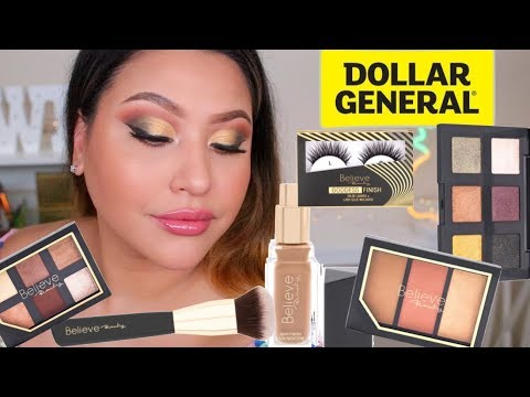 Nothing Over $5! Dollar General Makeup: Believe Beauty
