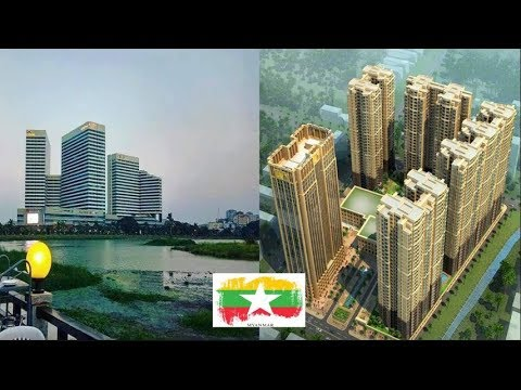 Myanmar Skyline Today||Top Under Construction High Rise 2018