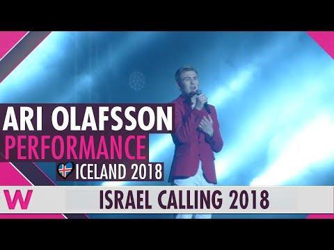 "Ari Olafsson ""Our Choice"" (Iceland) LIVE @ Israel Calling 2018"