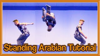 Standing Arabian (Back Flip 180) Tutorial | GNT