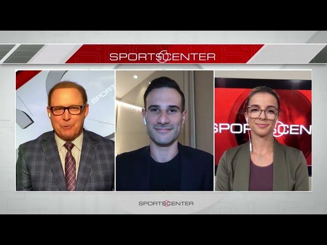 Adriano on ESPN SportsCenter (11/07/21)