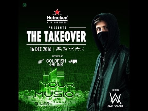 Alan Walker Live Tour in Malaysia 2016 Zouk KL (Fan Made)