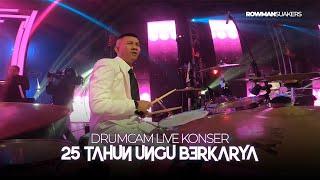 Drum Cam Spesial 25 Tahun Ungu Berkarya : Bayang Semu & Cinta Gila Live