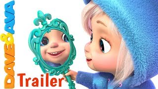 😴 Hush Little Baby – Trailer | Lullabies for Babies | Nursery Rhymes from Dave and Ava❤