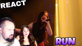 VOCAL COACHES REACT: CLAUDIA EMMANUELA SANTOSO - RUN (SNOW PATROL)