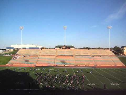 Dalhart High School Marching Band UIL 2015