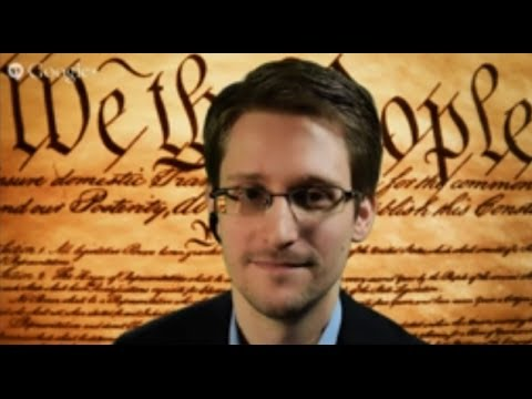 Edward Snowden and ACLU at SXSW