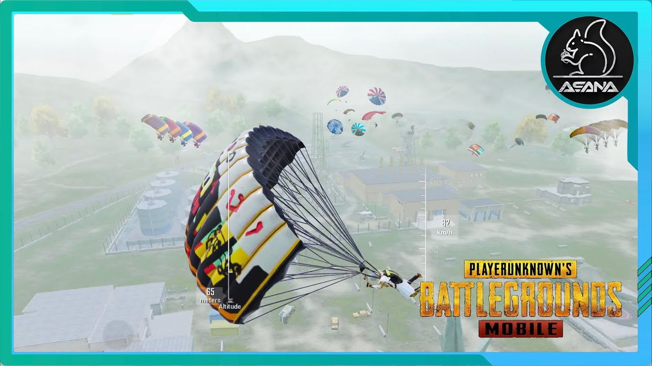 Download EVERYONE LANDED in MILITARY BASE😱   PUBG MOBILE