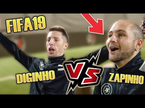 Diginho VS Zapinho - UNA VOLTA PER TUTTE SU FIFA19