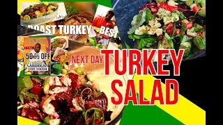 The Best Leftover Turkey Salad,ROAST TURKEY SALAD RECIPE BY | Chef Ricardo Cooking