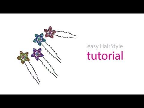 Easy HairStyle Tutorial - U Pin/ Hair Pin