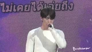 [FANCAM] 140405 Kim Woo Bin 1st FM in Thailand - singing 'The Flight'