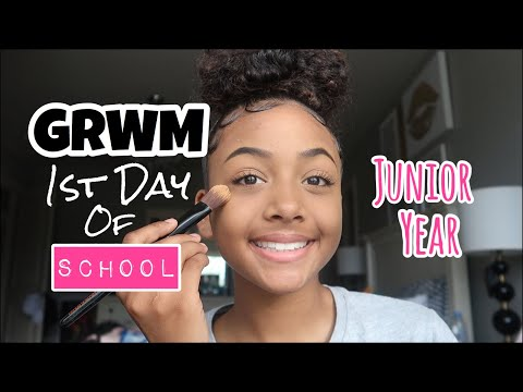 GRWM First Day of School (Junior Year) 2019 | LexiVee03