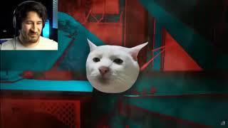 Кот прыгает с машины 10ь минут с марком плээром