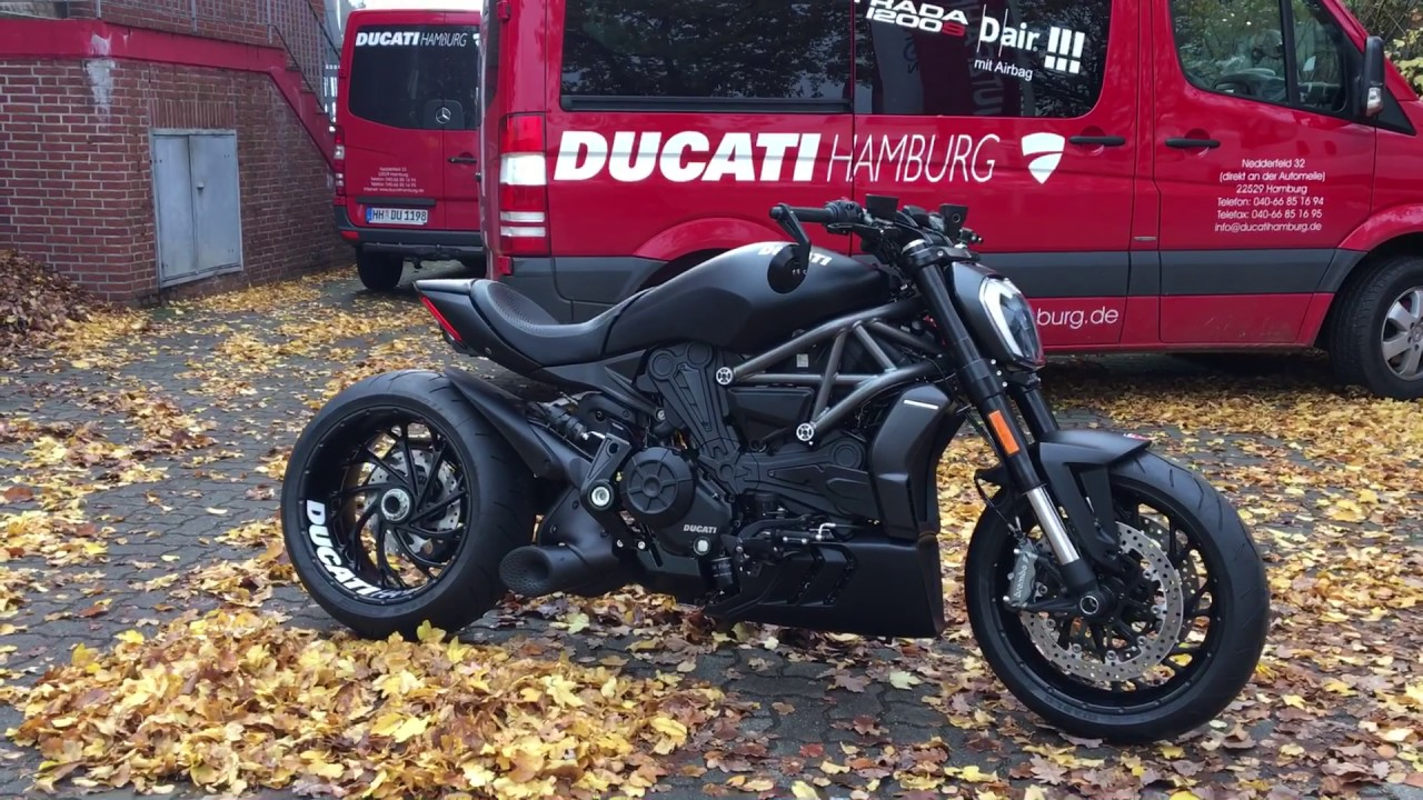 ducati x diavel independent seht her by ducati hamburg youtube. Black Bedroom Furniture Sets. Home Design Ideas