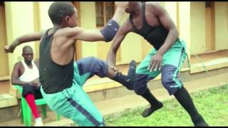 African KARATÉ Movie, KUNG FU Scene 1, Malawi Kufewa Acrobatics