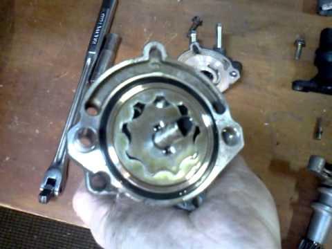 How An Oil Pump In A Car Works Visually