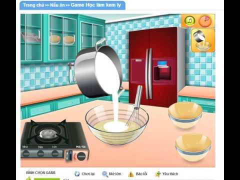 Game 24h.com - Game học làm kem ly