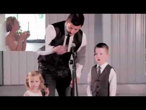The Grooms Speech with a difference! Michael Buble everything