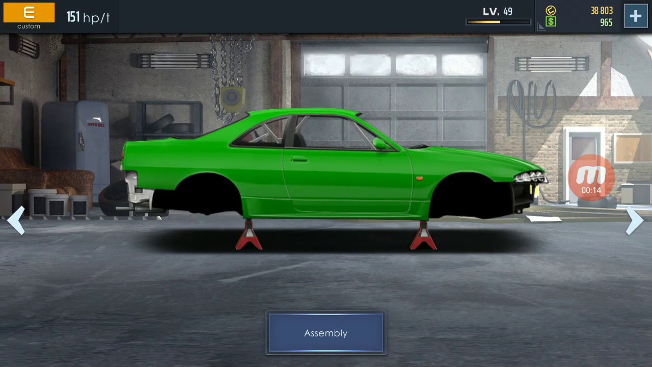 Drag Street Racing game how to do engine swap and build a custom car best  Android drag racing game