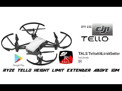 DJI RYZE TELLO How to remove 10 meter limitation and get 30