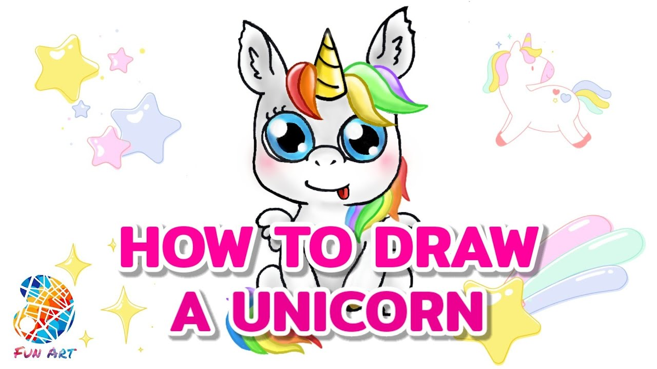 How To Draw A Unicorn Easy Step By Step For Beginners ...