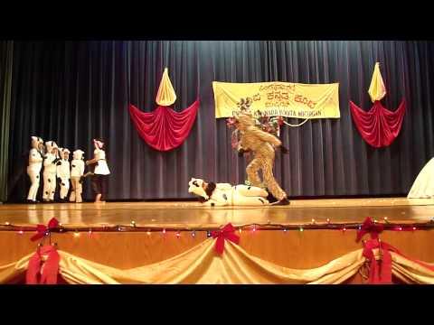 Dharani Mandala  - Punyakoti Dance Drama at PKK Michigan on Deepotsava-2012