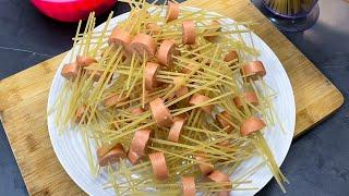 DELICIOSOS pulpitos de Pastas -  como preparar pastas en salsa de carne