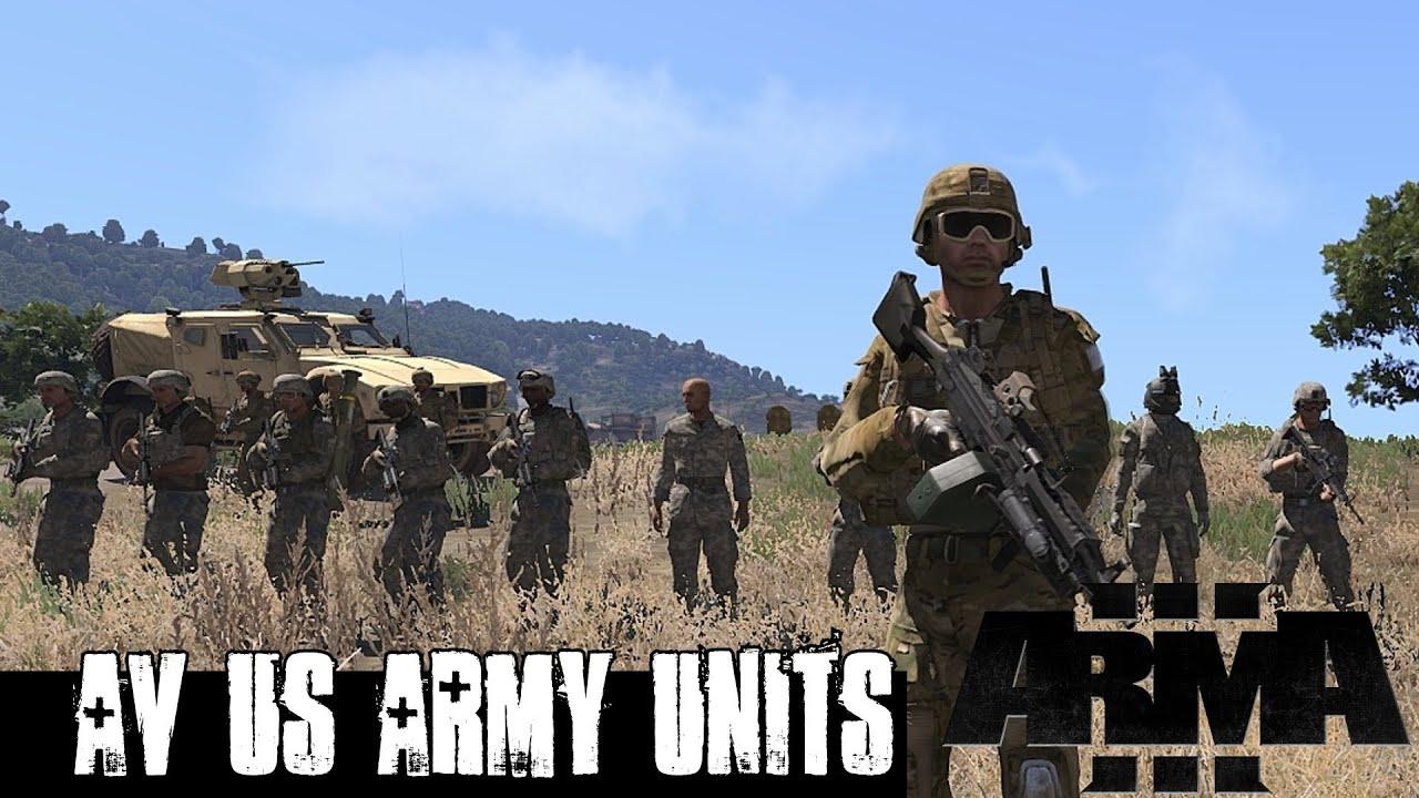 ArmA 3 Mods - AV_IndUS - US Army Units