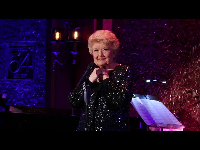 Marilyn Maye sings