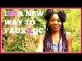 HOW TO FAUX LOCS EASIEST METHOD NO CROCHET