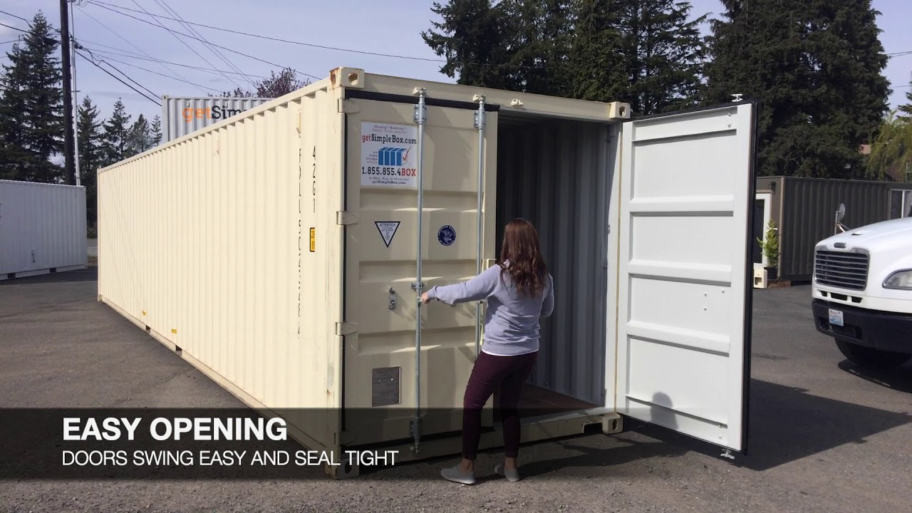 40 Shipping Containers For Sale Ebay >> 40 Foot Shipping Containers For Sale Or Rent Simple Box