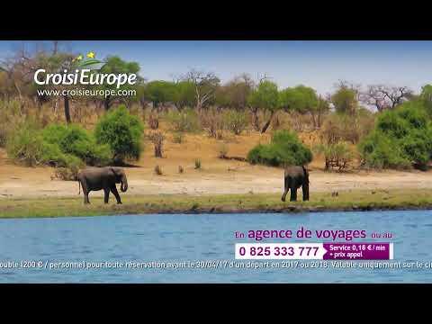 [Spot TV - Fr] CroisiEurope 15s Afrique Zambèze