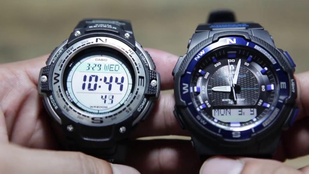 949ca194c46 Casio OutGear   SGW-100 VS SGW-500H - YouTube