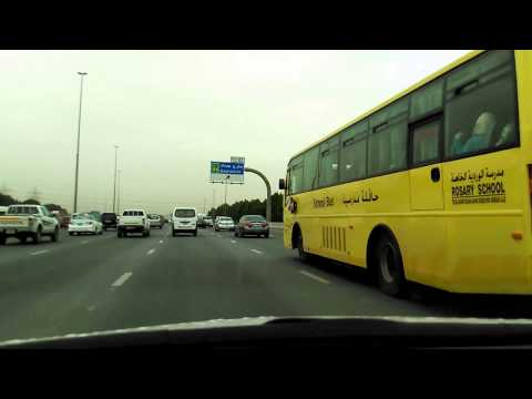 Driving From Sharjah to Dubai
