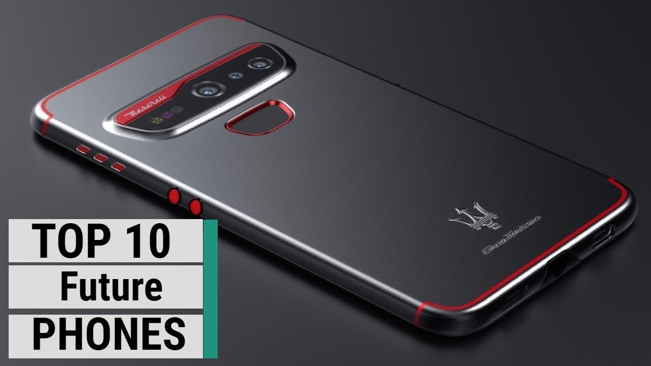 Top 10 Best Future Smartphone Concepts YOU NEED TO SEE | Upcoming Phones