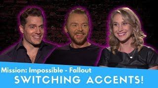Mission: Impossible: Fallout - Switching Accents!
