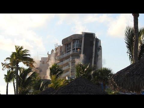 Crystal Palace implosion - Nassau Bahamas October 2018