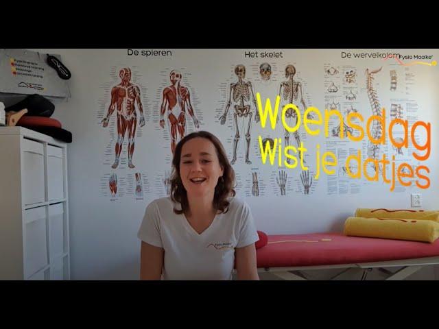 Woensdag-Wist-Je-Datje over... De Nederlandse Norm voor Gezond Bewegen